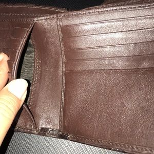 Gucci Bags - Guccissma Leather Brown D Ring Wallet